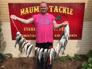 White Bass Tournament- Tomorrow-Every Man for Himself!