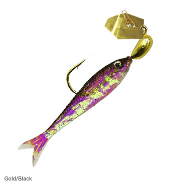 ZMAN CHATTERBAIT FLASHBACK MINI GOLD