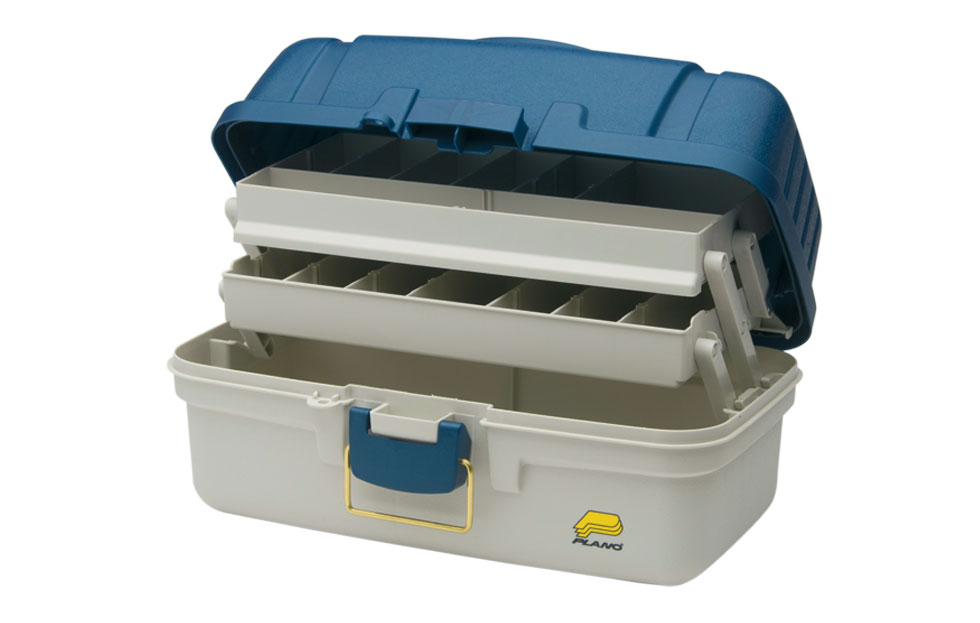 Plano Two Tray Tackle Box Maumee Tackle