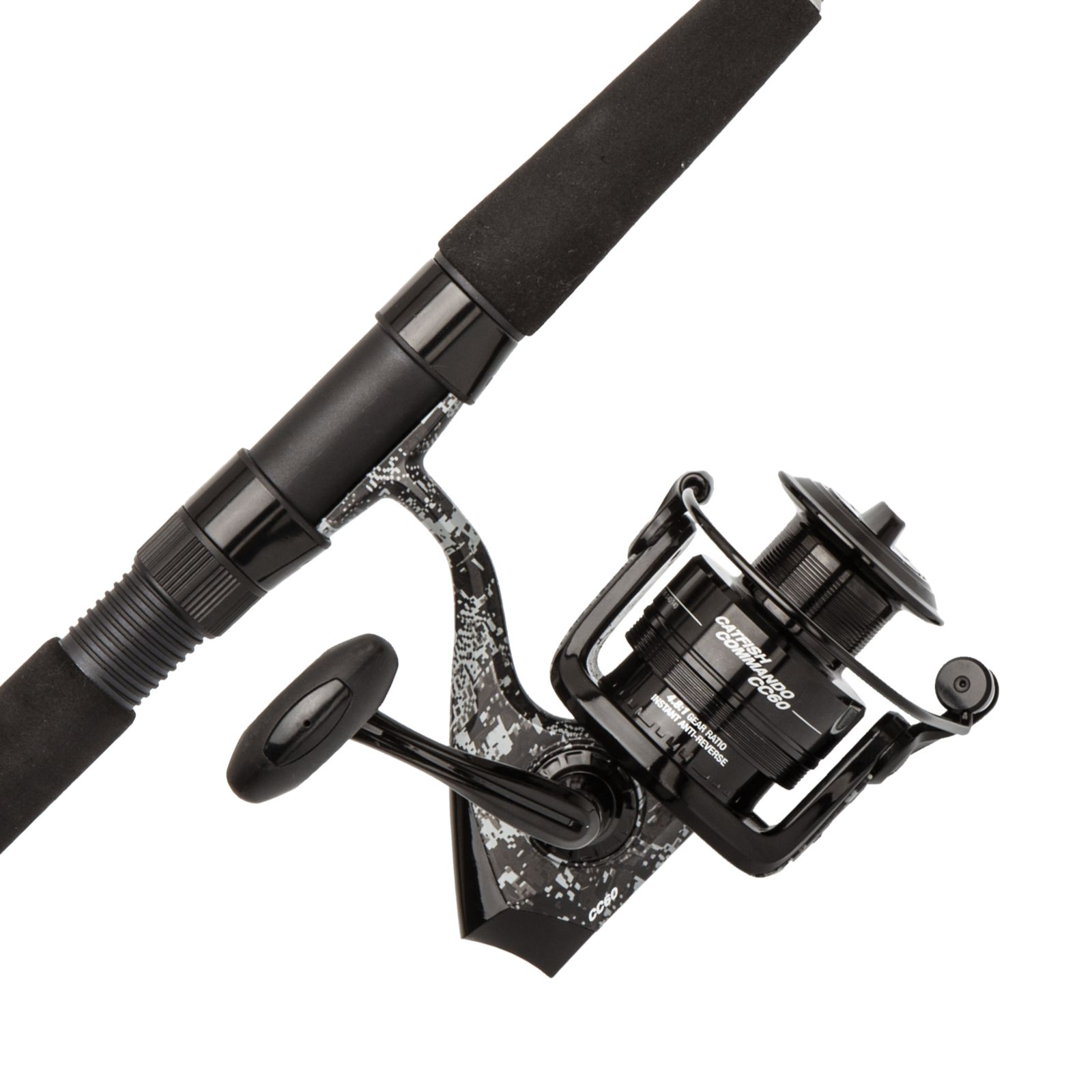 Abu garcia catfish commando spin combo maumee tackle for Garcia fishing pole