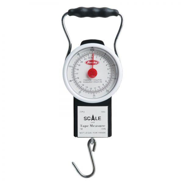 Berkley® Portable Scale With Tape -50 LB