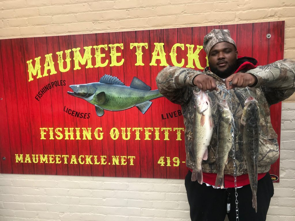 Maumee river update 28 feb 2018 first walleye of the for Maumee river fishing report