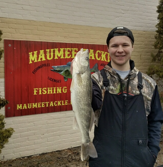 Maumee river report 13 march 2018 for Maumee river fishing report