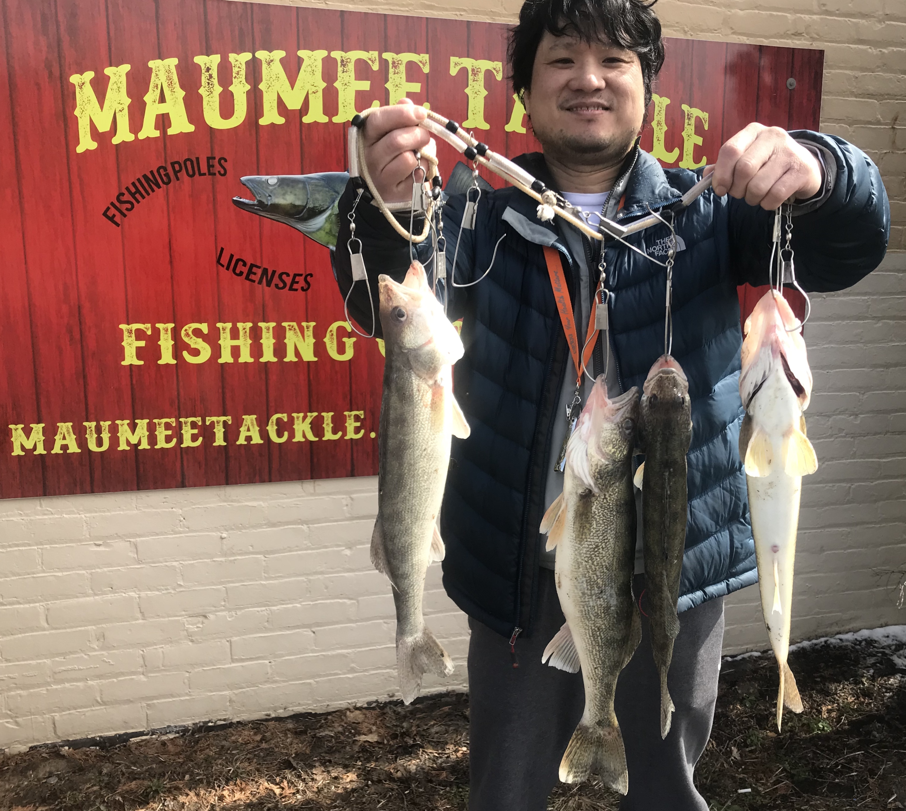 Maumee river report march 22 2018 for Maumee river fishing report