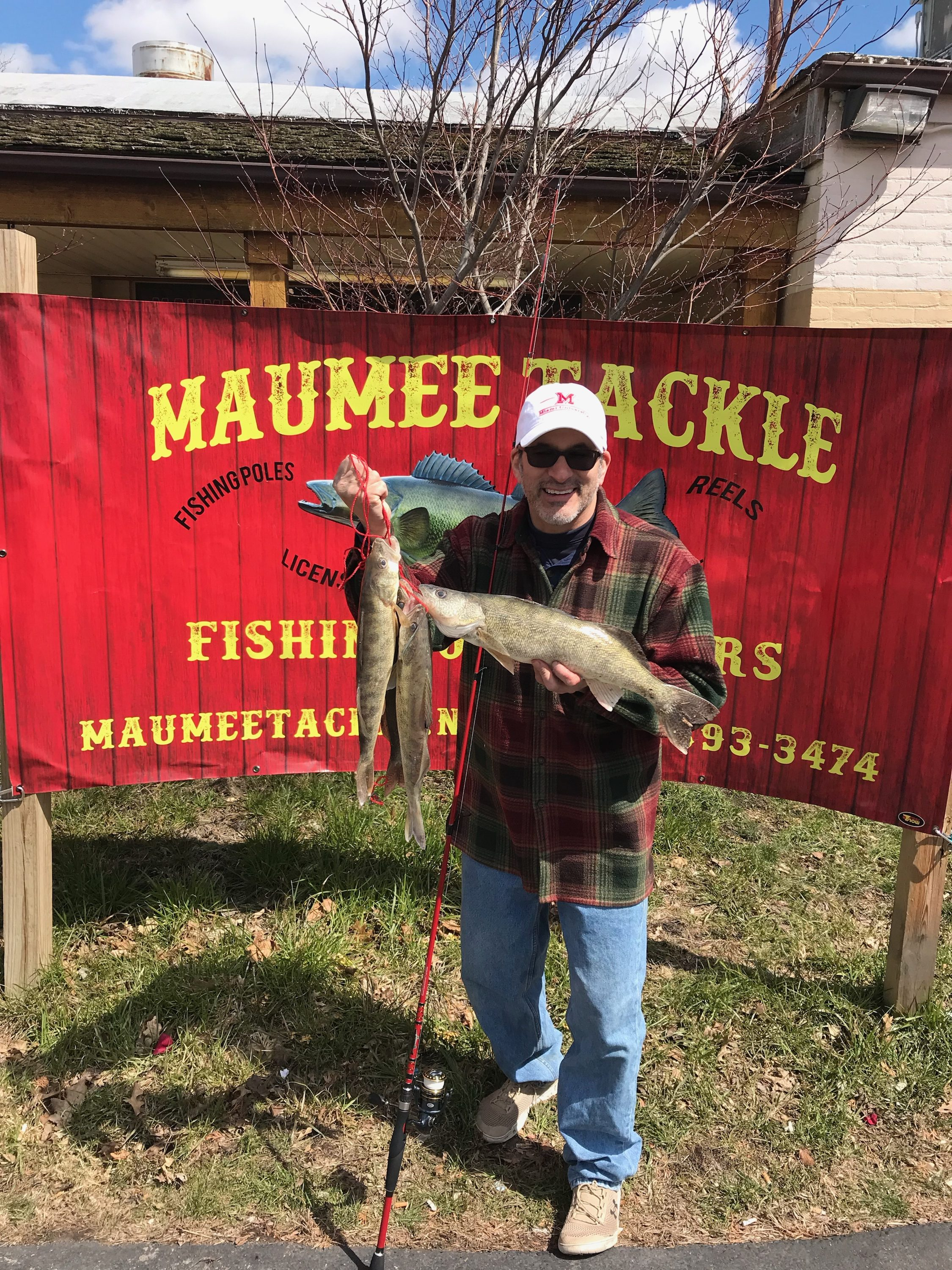 Maumee river report 8 april 2018 for Maumee river fishing report