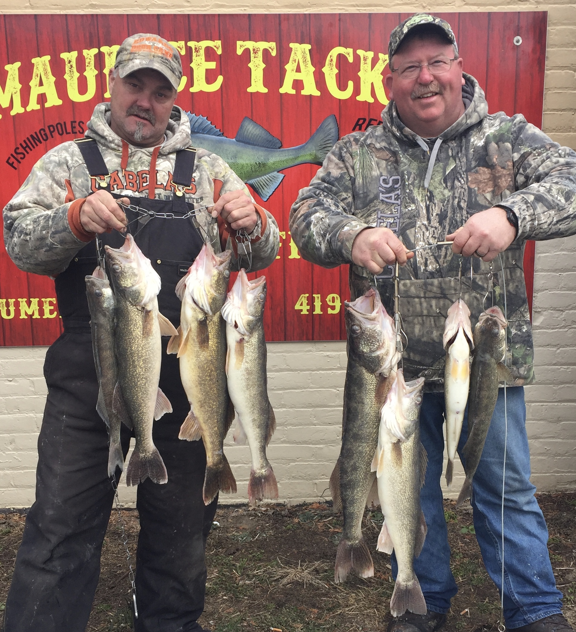 Maumee river report 10 april 2018 for Maumee river fishing report