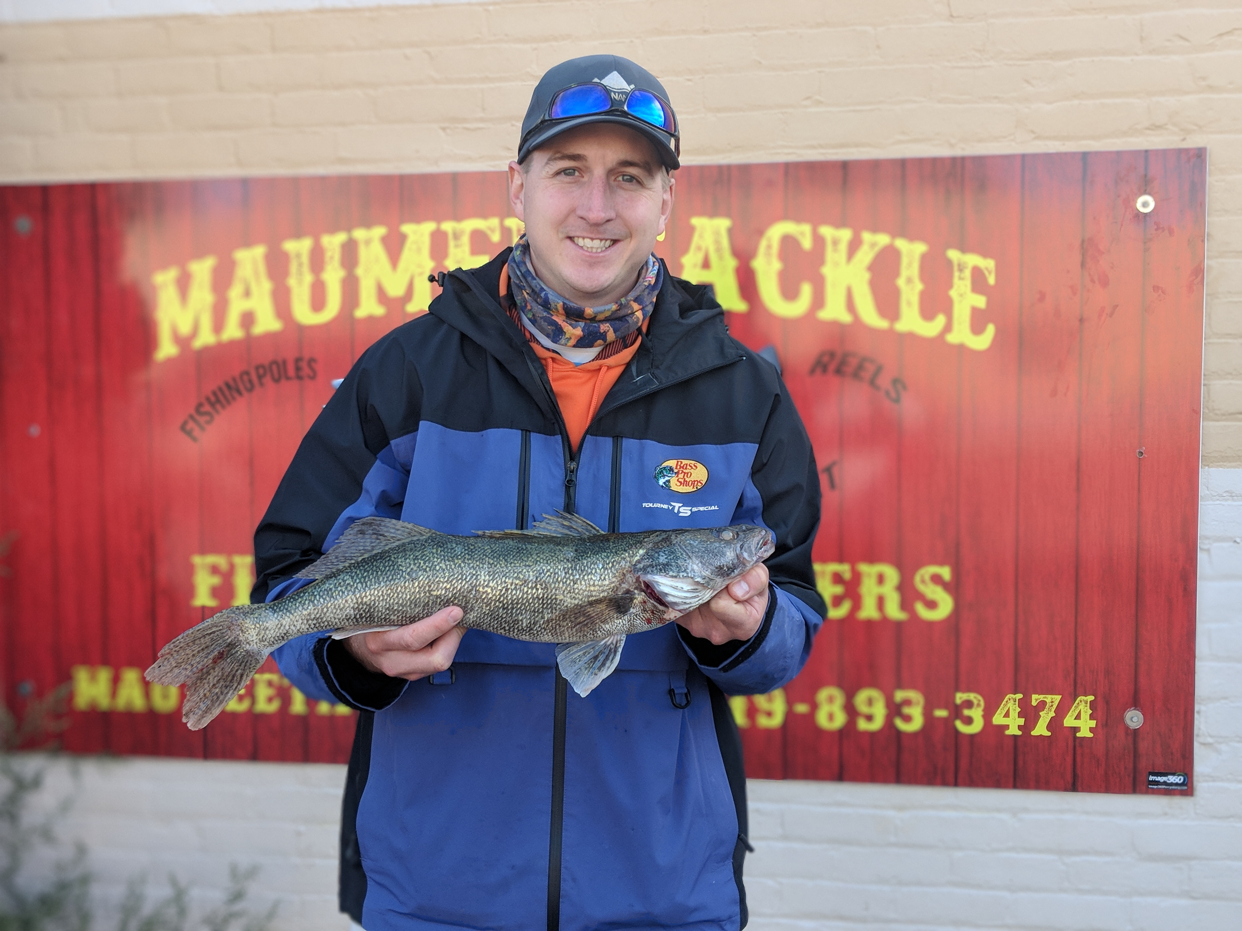 Maumee river Report October 5 2019- Emerald shiners still available