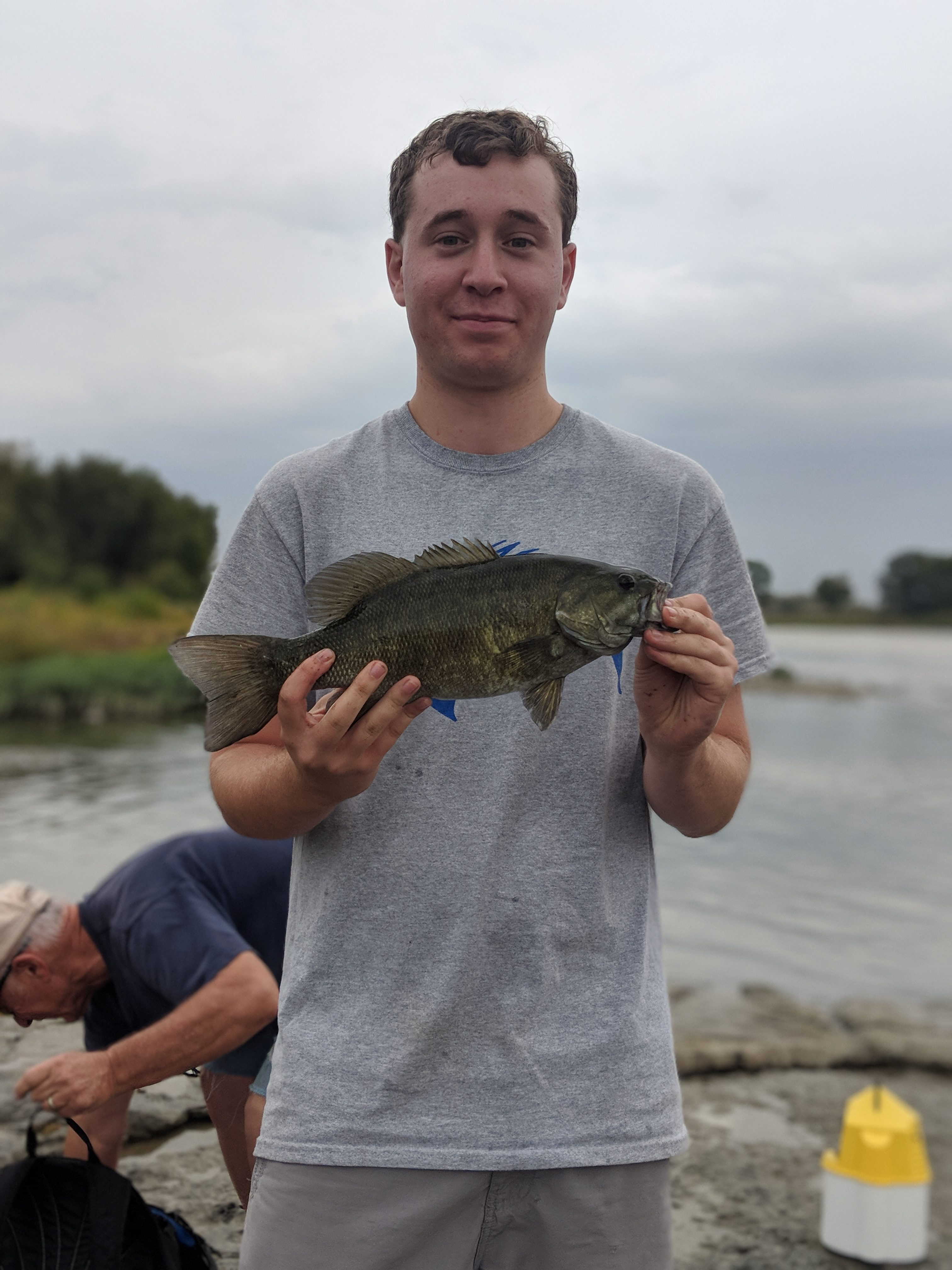 Maumee river Report October 12, 2019- Emerald shiners still available