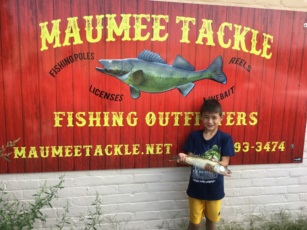 Maumee River Report.EMERALD SHINERS NOW IN STOCK! 2 October 2019-OCTOBER AND HUNTING SEASON SPECIAL! a